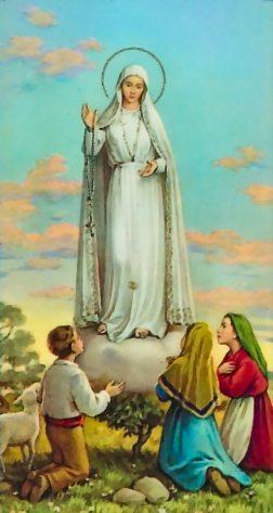 Prions les mystères glorieux avec notre Dame de Fatima Fatima3